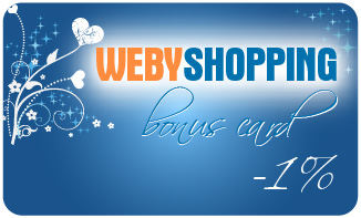 WEBYSHOPPING BONUS CARD