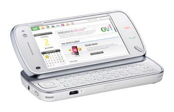 Mobilný telefón Nokia N97, dotykový display