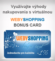 Virtu�lna WEBYSHOPPING BONUS CARD