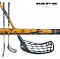 Florbalov� hokejka MPS WILDSTICK Yellow-Black
