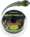 Kaprov� �n�ra FC Hybrid Leadcore 50 lb / 10 m Weed