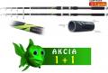 AKCIA 1+1-Kaprov� pr�t Cool X Tele 3,60m/2,75lb