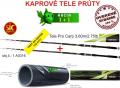 Akcia 1+1 -Kaprov� pr�t Cool X Tele Carp 3,60m/2,75lb