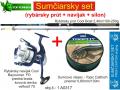 AKCIOV� SUMCOV� SET - pr�t 2,40m/250g+navij�k+vlasec