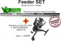 Feeder 3,6m/80g + feeder baitrunerov� navijak