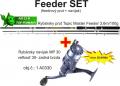 Feeder 3,6m/100g + feeder navijak zadn� brzda+silon